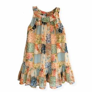Mayoral Sleeveless Chiffon Floral Dress Girls, 4T